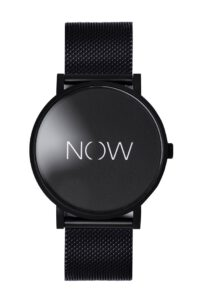 watch that says now